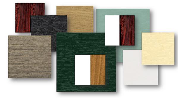 colours for upvc doors